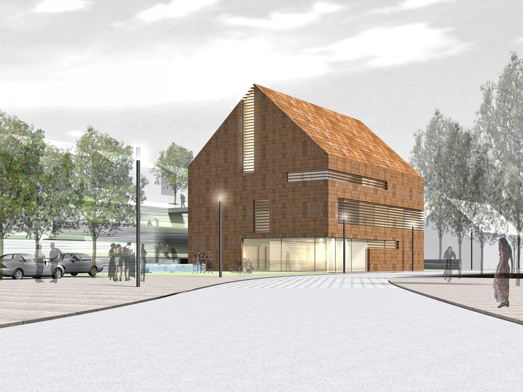 Rathaus Unterkirnach Perspektive