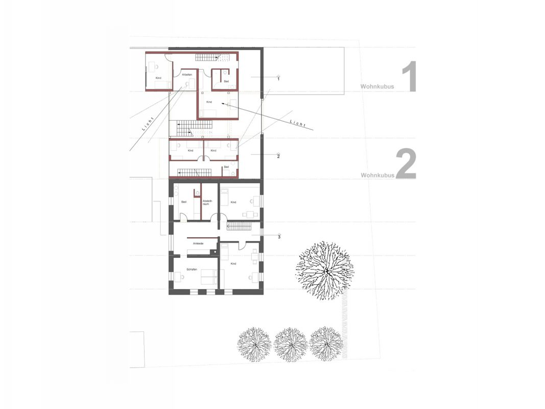 Neues Wohnen in Scheunen Grundriss