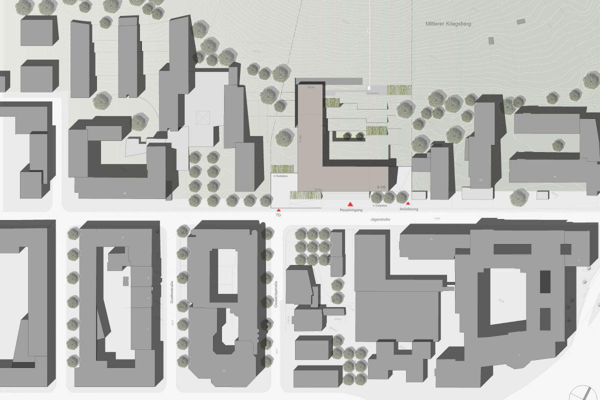 IHK Stuttgart Lageplan