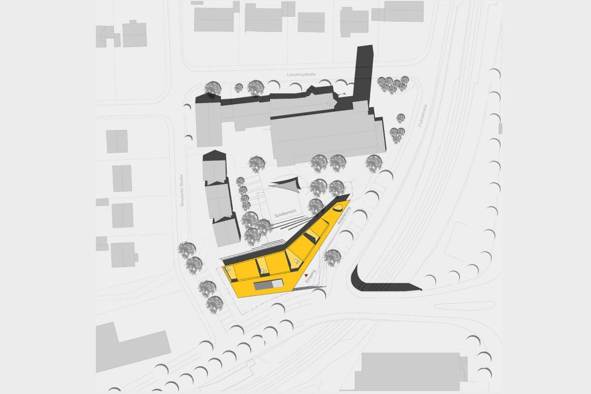 Kinderhaus St. Hedwig Lageplan