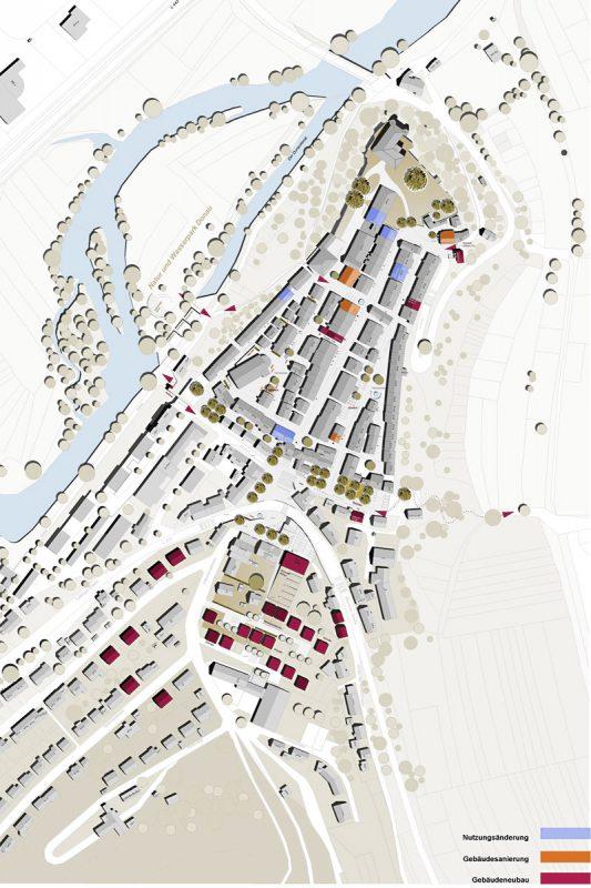 Oberstadt Mühlheim Lageplan