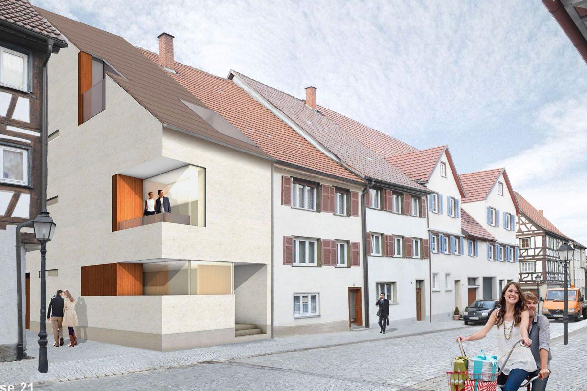 Oberstadt Mühlheim Perspektive