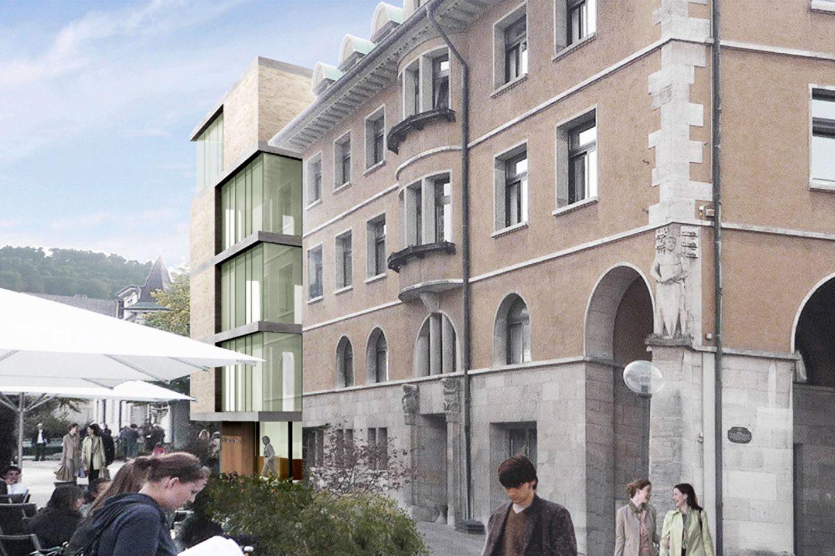 Rathaus Albstadt Perspektive