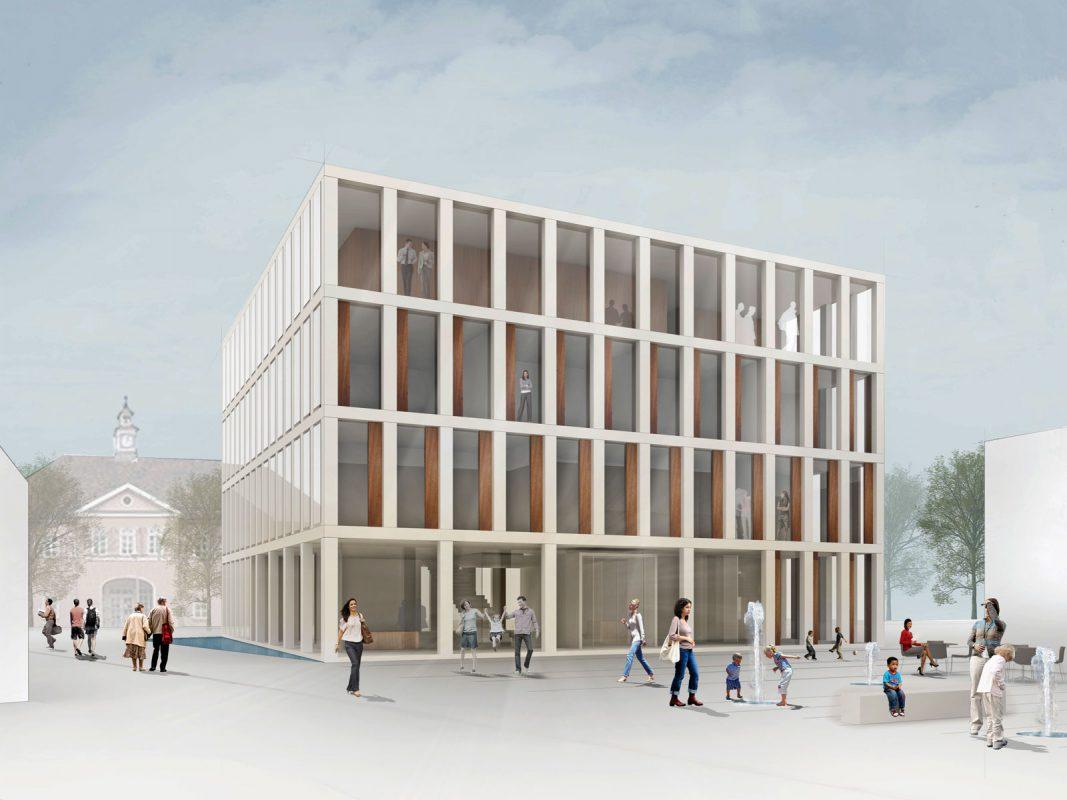Rathaus Altbach Perspektive