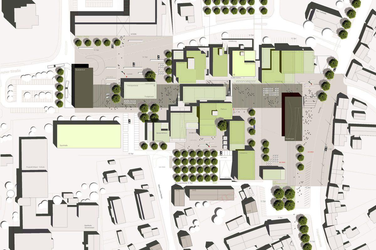 Stadtmitte Spaichingen Lageplan