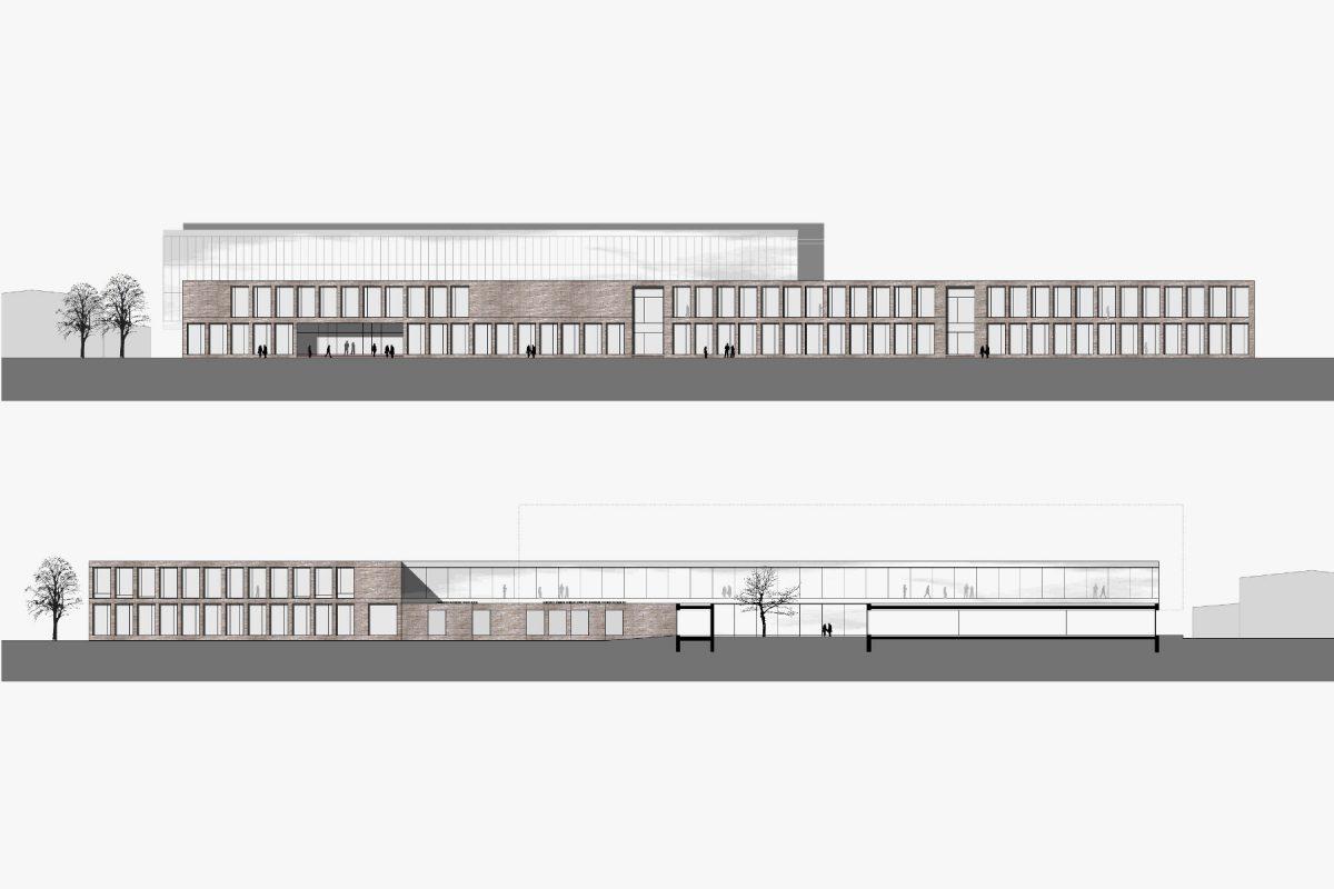 Erweiterung der Steinbeis Schule Ansicht
