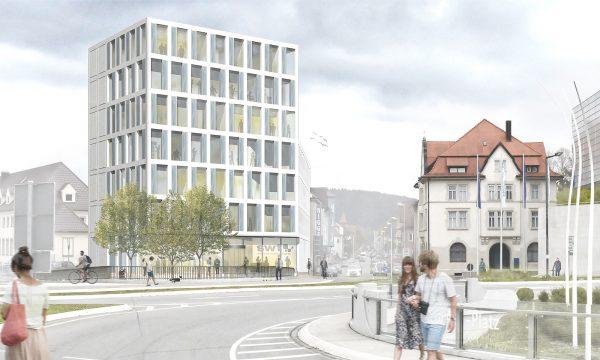 Verwaltungsgebäudes der Stadtwerke, Tuttlingen